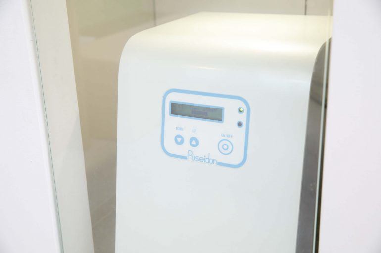 ポセイドンによる清潔な水を使用